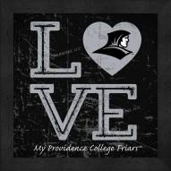 Providence Friars Love My Team Color Wall Decor