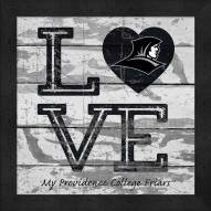 Providence Friars Love My Team Square Wall Decor