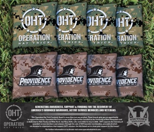 Providence Friars Operation Hat Trick Cornhole Bag Set
