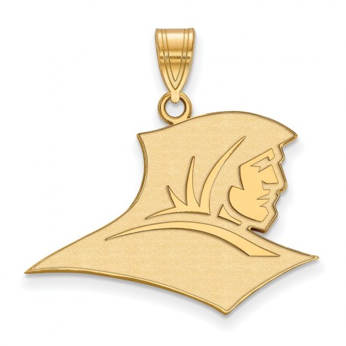 Providence Friars Sterling Silver Gold Plated Large Pendant