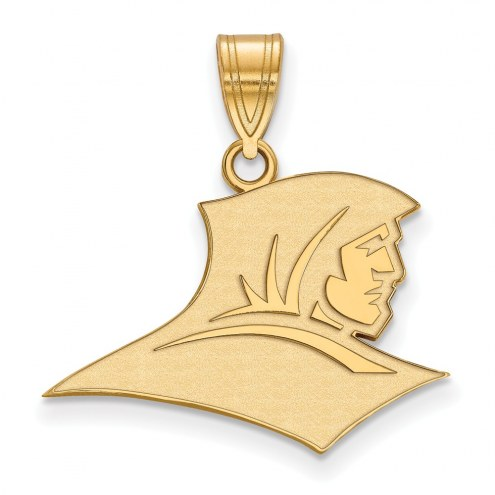 Providence Friars Sterling Silver Gold Plated Medium Pendant