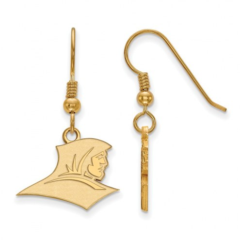 Providence Friars Sterling Silver Gold Plated Small Dangle Earrings