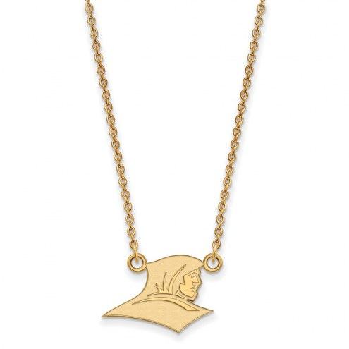 Providence Friars Sterling Silver Gold Plated Small Pendant Necklace