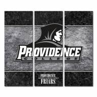 Providence Friars Triptych Double Border Canvas Wall Art
