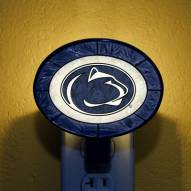 Penn State Nittany Lions NCAA Stained Glass Night Light