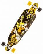 Punisher Steampunk Longboard