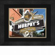 Purdue Boilermakers 13 x 16 Personalized Framed Sports Pub Print