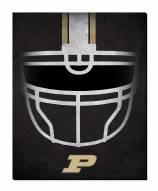 """Purdue Boilermakers 16"""" x 20"""" Ghost Helmet Canvas Print"""