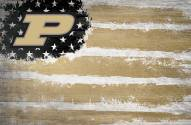 """Purdue Boilermakers 17"""" x 26"""" Flag Sign"""
