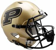 Purdue Boilermakers Riddell Speed Collectible Football Helmet