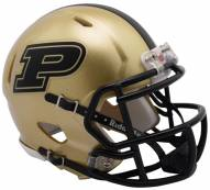 Purdue Boilermakers Riddell Speed Mini Collectible Football Helmet