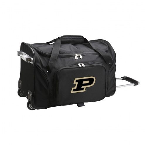 """Purdue Boilermakers 22"""" Rolling Duffle Bag"""