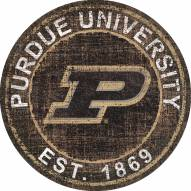 """Purdue Boilermakers 24"""" Heritage Logo Round Sign"""