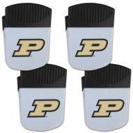 Purdue Boilermakers 4 Pack Chip Clip Magnet with Bottle Opener