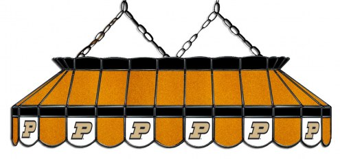 "Purdue Boilermakers 40"" Stained Glass Pool Table Light"