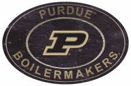 """Purdue Boilermakers 46"""" Heritage Logo Oval Sign"""