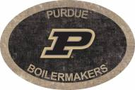 """Purdue Boilermakers 46"""" Team Color Oval Sign"""