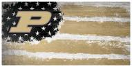 """Purdue Boilermakers 6"""" x 12"""" Flag Sign"""