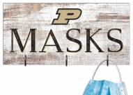 """Purdue Boilermakers 6"""" x 12"""" Mask Holder"""
