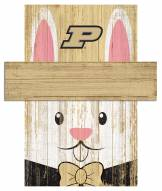 "Purdue Boilermakers 6"" x 5"" Easter Bunny Head"