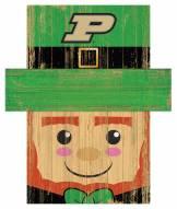 "Purdue Boilermakers 6"" x 5"" Leprechaun Head"