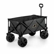 Purdue Boilermakers Adventure Wagon with All-Terrain Wheels