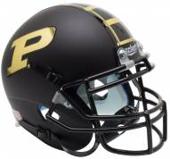 Purdue Boilermakers Alternate 1 Schutt Mini Football Helmet