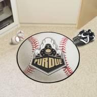 Purdue Boilermakers Baseball Rug
