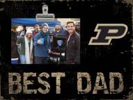 Purdue Boilermakers Best Dad Clip Frame