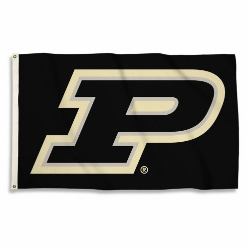 Purdue Boilermakers Black 3' x 5' Flag