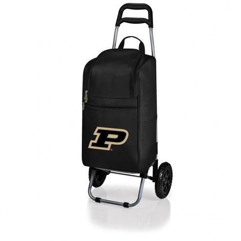 Purdue Boilermakers Black Cart Cooler