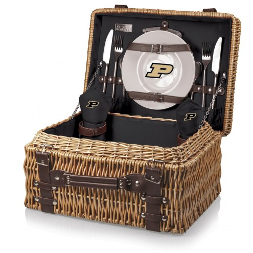 Purdue Boilermakers Black Champion Picnic Basket