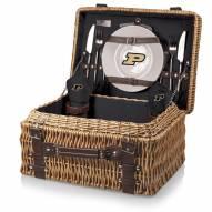 Purdue Boilermakers Black Champion Picnic Basket