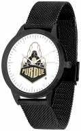 Purdue Boilermakers Black Mesh Statement Watch
