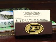 Purdue Boilermakers Business Card Holder