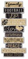 Purdue Boilermakers Celebrations Stack Sign