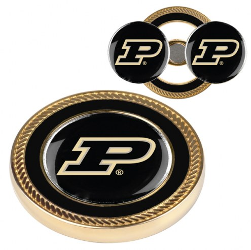 Purdue Boilermakers Challenge Coin with 2 Ball Markers