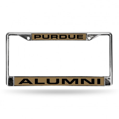 Purdue Boilermakers Chrome Alumni License Plate Frame