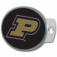 Purdue Boilermakers Class II and III Oval Metal Hitch Cover