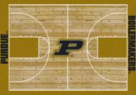 Purdue Boilermakers College Home Court Area Rug