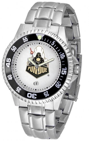 Purdue Boilermakers Competitor Steel Men's Watch