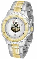 Purdue Boilermakers Competitor Two-Tone Men's Watch