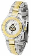 Purdue Boilermakers Competitor Two-Tone Women's Watch