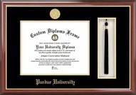 Purdue Boilermakers Diploma Frame & Tassel Box