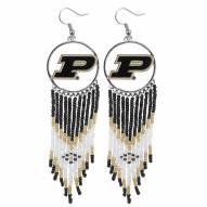 Purdue Boilermakers Dreamcatcher Earrings