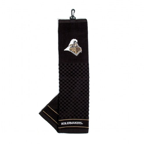 Purdue Boilermakers Embroidered Golf Towel
