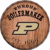 "Purdue Boilermakers Established Date 16"" Barrel Top"