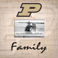 Purdue Boilermakers Family Picture Frame