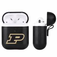 Purdue Boilermakers Fan Brander Apple Air Pods Leather Case