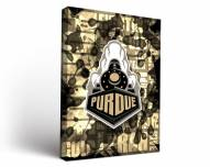 Purdue Boilermakers Fight Song Canvas Wall Art